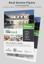 40 professional real estate flyer templates corporate real estate flyer