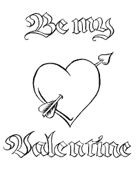 There are also more intricate valentine doodles and mandalas for big kids to color in too. Valentine Heart Coloring Pages Coloring Home