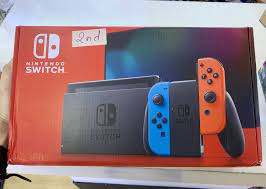 Máy Nintendo Switch New Model Neon Cũ