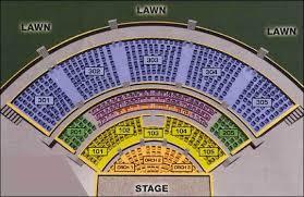 Unfolded Verizon Amphitheater Seating Chart Atlanta