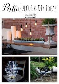 Wonderful Diy Patio Decorating Ideas Decorate Intended Design Inspiration