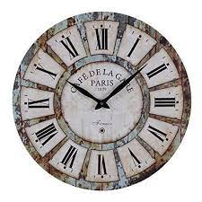 Simple and easily read is what the. Old Oak 24 Inch Vintage Large Silent Non Ticking Decorative Wall Clock For Wall Decor Round Wall Art Decor Wall Clock Vintage Wall Clock