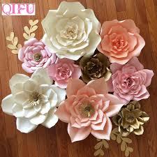 How To Make Paper Flower Backdrop Qifu 1pcs 20cm Diy Paper Flower Backdrop Decoration Wedding