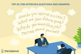 Questions About Employment Top 20 Common Job Interview Questions And Answers