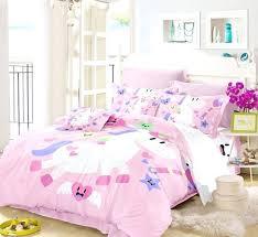 teenage bedding set bed children pink bedding set for girls bedding set unicorn bed linen bed