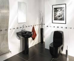Black And White Bathroom Wonderful Black And White Small Bathroom Designs Design Gallery 2774