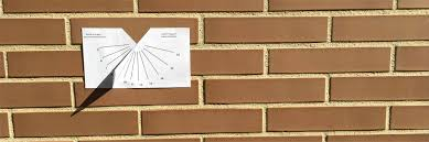 Wall Sundial Design Sundial Do It Yourself