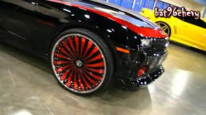 Black/Red 2012 Camaro RS on 26