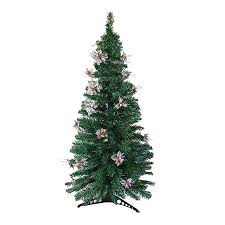 Northlight 6-ft Pre-lit Whimsical Artificial Christmas Tree with Color  Changing Fiber Optics