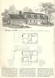 Vintage House Plans 1970s New England Gambrel Roof Homes Part 2 Gambrel Roof House Floor Plans