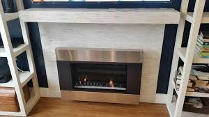 awesome ventless gas fireplace installation install gas fireplace pictures marketugandacom installation of ventless w mantle construction