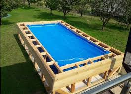 swimming pool deck ideas for portable