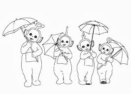 Small Picture Teletubbies coloring pages for kids Free Coloring Pages and