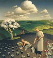 spring in the country 1941 grant wood