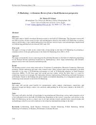 how to make a professional looking resume get your homework online     E Marketing A literature Review from a Small Businesses perspective  PDF  Download Available