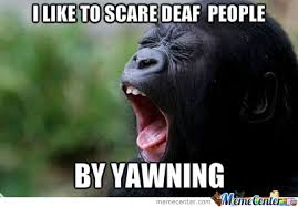 Yawning Or Screaming? by skyshader - Meme Center via Relatably.com