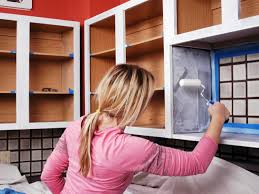 Painted Kitchen Cabinets How To Paint Kitchen Cabinets How Tos Diy