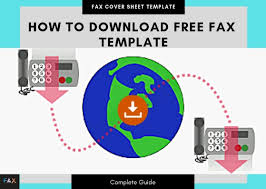 Cover Sheet Design How To Download And Print Fax Template 11 Free Fax Template