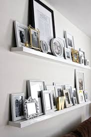Floating Shelves For Picture Frames Mesmerizing 32 DIY Small Home Projects Big Impact My Someday House