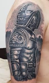 гладиатор кавер ап мужская тату на плече фото татуировок