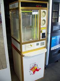 Popcorn Express Vending Machine New POPN GO POPCORN VENDING MACHINE COIN OP KIOSK Item Is In Used