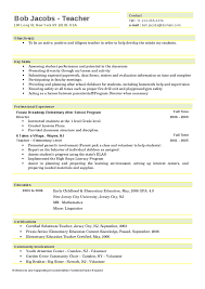 Early Childhood Teacher Resume Modern Pin By My Career Plans On Resume Templates 2019 Teacher