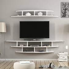 Minar Alvino Duvara Monte Tv Ünitesi Tv Sehpası Beyaz Fiyatı ve Özellikleri  - GittiGidiyor