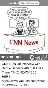 calling back after interview posted in politically incorrect well be back with more news as soon