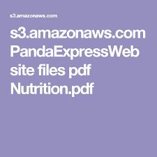 s3 amazonaws pandaexpress files pdf nutrition pdf