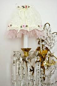 309 best shabby chic lamps chandeliers images on shabby chic lamp shades