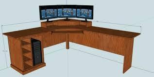 l shaped computer desk plans how to build an l shaped desk corner desk build your