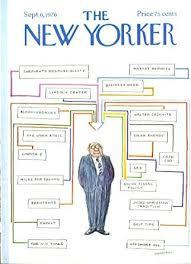 Amazon Com New Yorker Cover Stevenson Organization Chart 9
