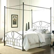 Black King Canopy Bed Black King Canopy Bed Dark Stained Mahogany ...