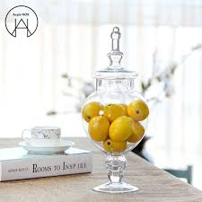 large glass bottle candy jars with lid storage tank food container high quality bottleason