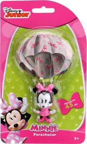 Disney Parachute Minnie Mouse 6 Cm Pink Internet Toys