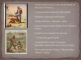 colonialism in robinson crusoe 6 iuml131152 crusoe