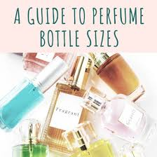 Ounce Size Chart A Handy Guide To Perfume Bottle Sizes Bellatory