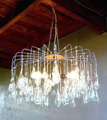 blown glass chandelier custom pottery barn lighting hand chandeliers art custom hand blown glass chandelier