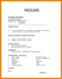 5 Type Of Curriculum Vitae Management On Call