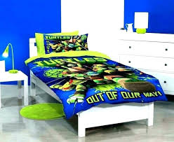 Ninja Turtles Bed Set Turtle Bedding Twin Bedroom Toddler – Interior ...
