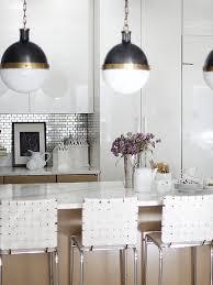 Kitchens Minimalist Kitchen With Tiles Stainless Stell Backsplash Inspiration Stainless Steel Table With Backsplash Minimalist