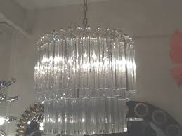 italian crystal murano glass chandelier retro living london uk with regard to