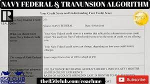 If you apply for a credit card. A Navy Federal Credit Union Transunion Credit Score Algorithm For Credit Card Approvals Youtube