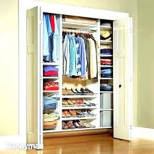 sliding door closet organization ideas pretty how to organize a small closet with sliding doors sliding
