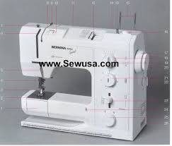 Bernina 1000 Special Sewing Machine Manual