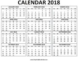 12 month 50 12 month calendar 2018 full smuga info