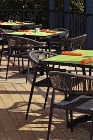 Beautiful and durable outdoor restaurant furniture