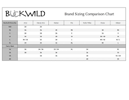 Follow This Easy To Use Product Sizing Chart To Ensure Your