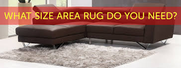 what size rug does your room need