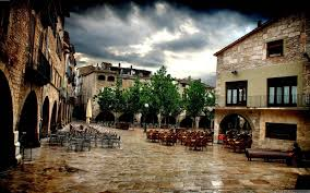 Hd outdoor backgrounds Blur Click Here To View Large Picture City Wallpaper Outdoor Cafes In Girona City Wallpaper